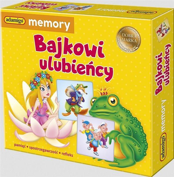 Bajkowi ulubieńcy - adamigo memory