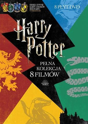 Pakiet: Harry Potter (8 DVD)