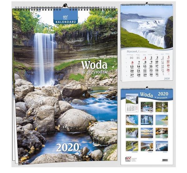 Kalendarz 2020 7 Plansz B3 - Woda EV-CORP