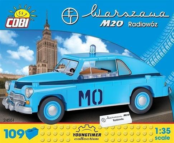 Cars Warszawa M20 MO 109 klocków