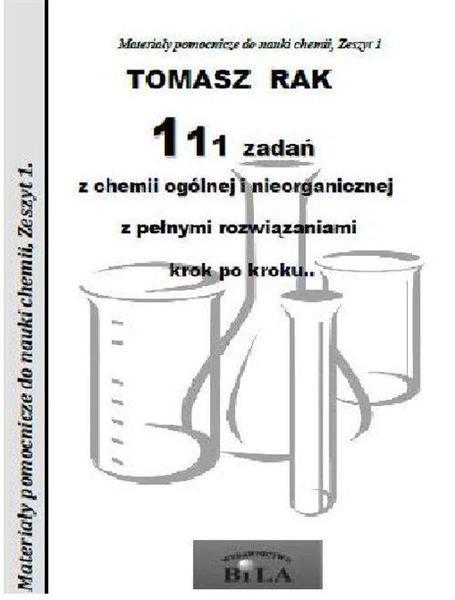 111 zadań z chemii ogólnej i nieorganicznej
