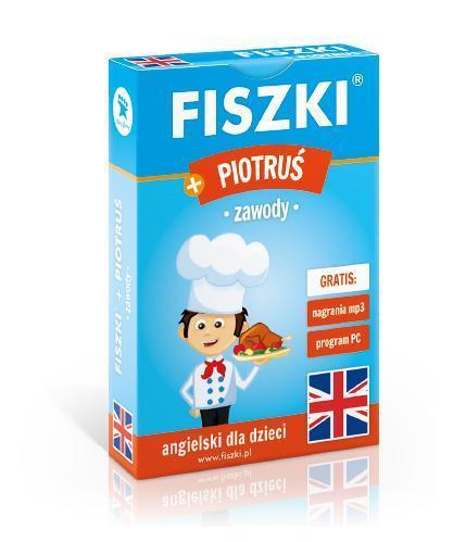 Angielski. Fiszki + Gra Piotruś - zawody