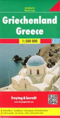 GRECJA MAPA 1:500 000 outlet OUTLET