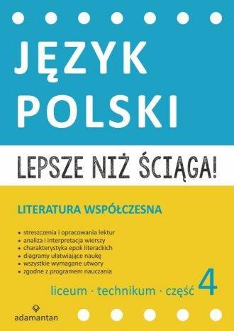 Lepsze niż ściąga. Język polski Liceum i technikum-28201