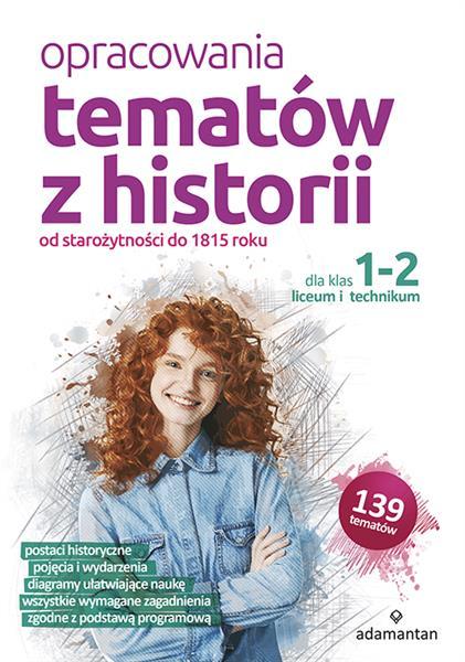Opracowania tematów z historii dla klas 1-2 liceum-30074
