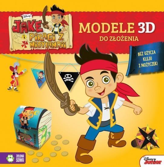Wypychanki. Modele 3D. Jake i piraci B OUTLET-11054