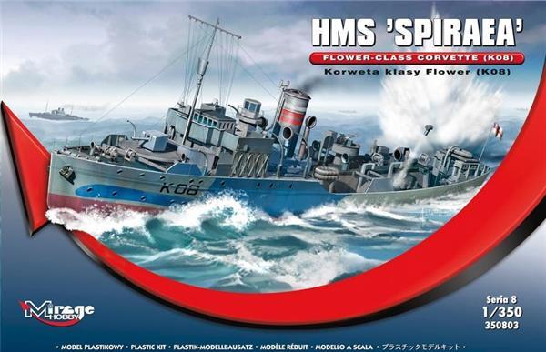 Brytyjska Korweta klasy Flower K08 HMS Spiraea-304400