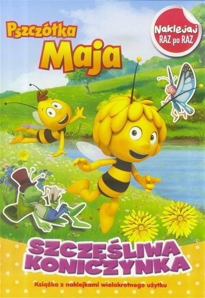 Pszczółka Maja.Naklejaj raz po raz.Szczęśliwa koni