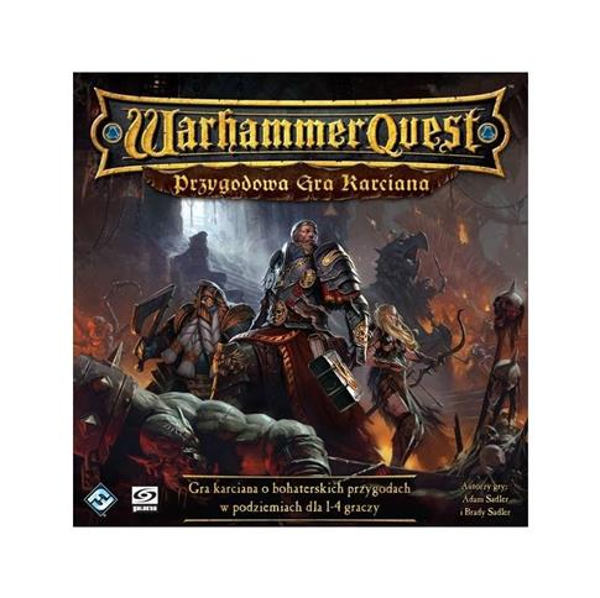 Warhammer Quest Przygodowa gra karciana GALAKTA