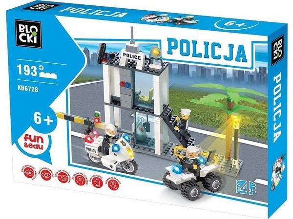 Klocki Blocki Policja Posterunek