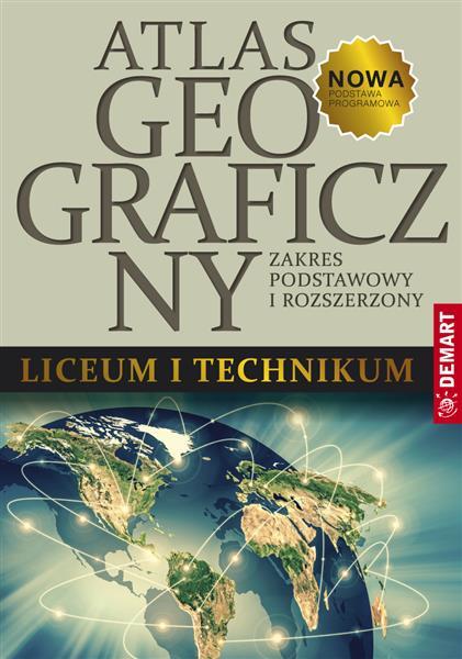 Atlas geograficzny ZP+ZR do LO i TechnikumAtlas ge