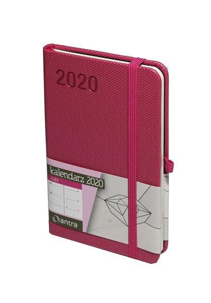 Kalendarz 2020 Rubi A6 Różowy TDW ANTRA