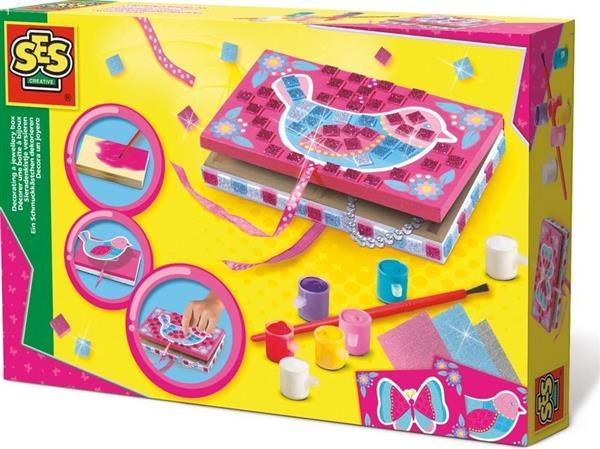 Kreatywna zabawa - udekoruj swoje pudełeczko