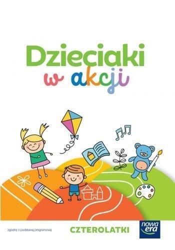 Dzieciaki w akcji 4-latki zestaw dla dziecka NE