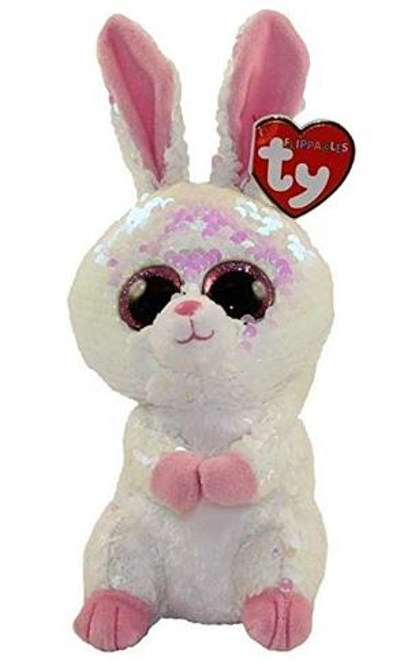 Beanie Boos Bloomy - Brokatowy Królik 15 cm
