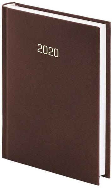 Kalendarz 2020 A5 Tygodniowy Albit Brązowy
