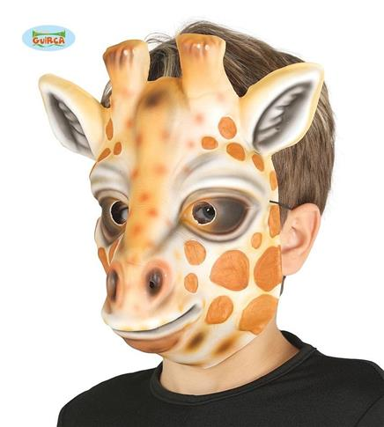 Dziecięca maska z pianki-Żyrafa
