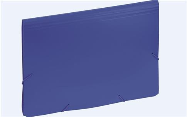 Aktówka z przekładkami 9112C niebieska EAGLE