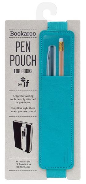 Bookaroo -uchwyt do książki na długopis turkusowy