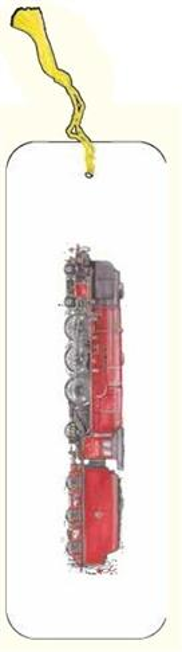 Zakładka do książki pociąg G07 41A 205 czerwony