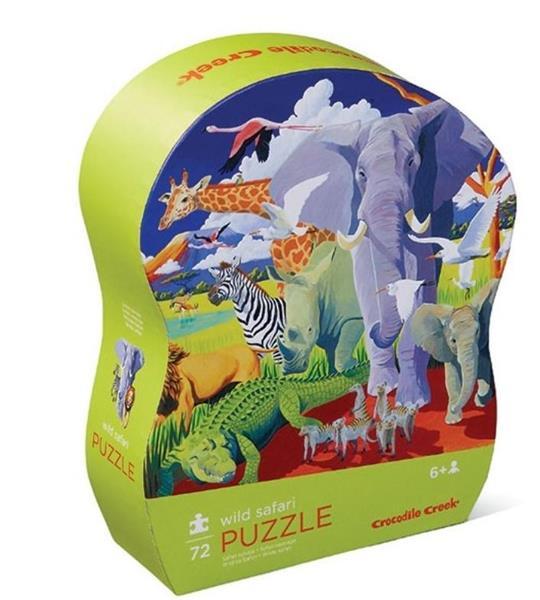 Puzzle 72 el. - Dzikie Safari