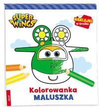 Super Wings. Kolorowanka maluszka