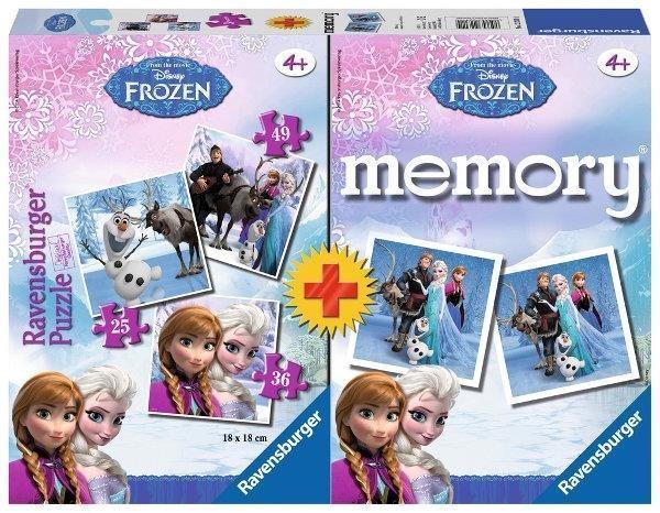 Puzzle + Memory Frozen