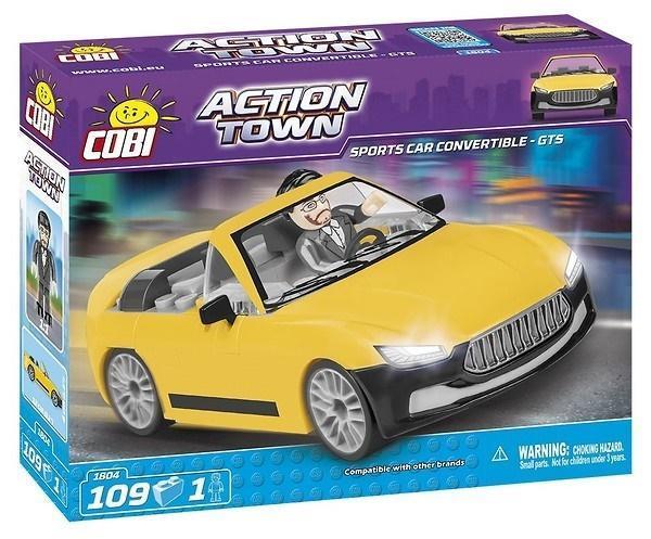 Action Town Sportowe Cabrio - GTS 109 klocków