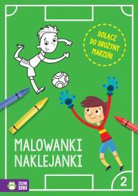 Piłkarskie Malowanki-Naklejanki cz2 NOWE