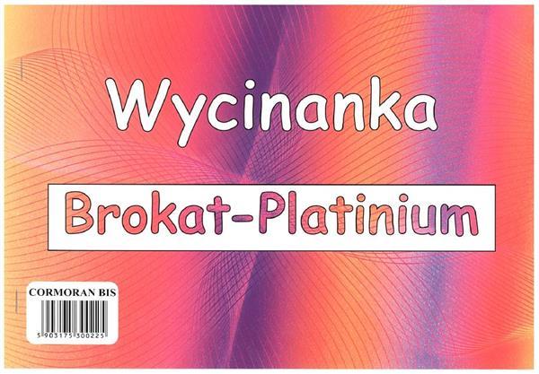 Wycinanka A4 brokat Platinium