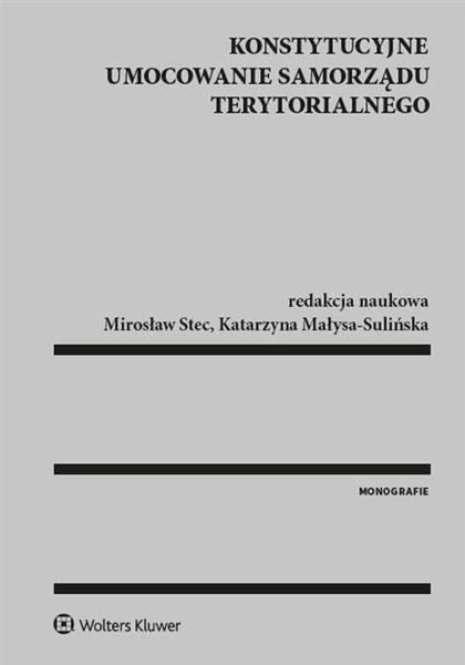 Konstytucyjne umocowanie samorządu terytorialnego