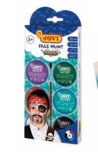 Zestaw do malowania twarzy Pirat MERplus