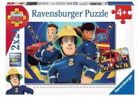 Puzzle 2x24 Strażak Sam