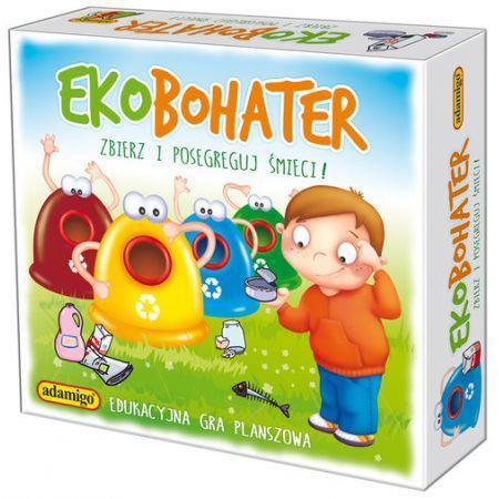 Ekobohater - Zbierz i posegreguj śmieci
