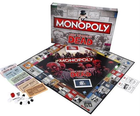 Monopoly The Walkin Dead - Survival Edition w. ang