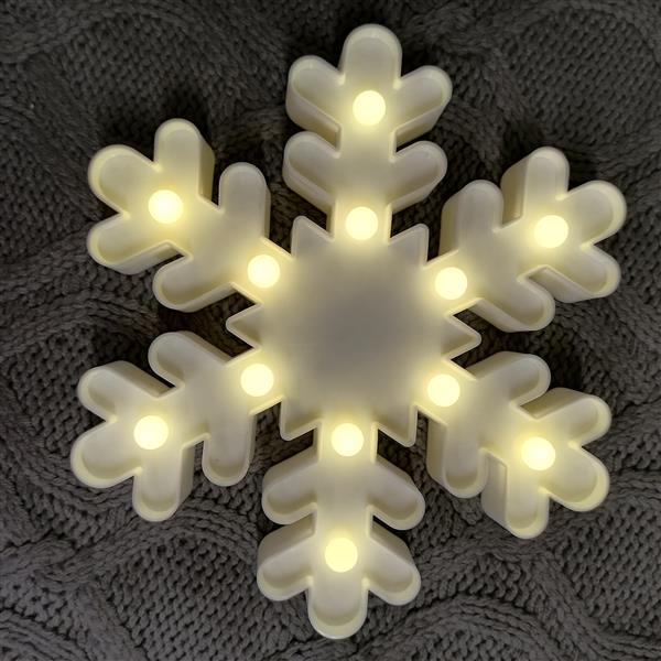 Markowa lampa Reserved śnieżynka