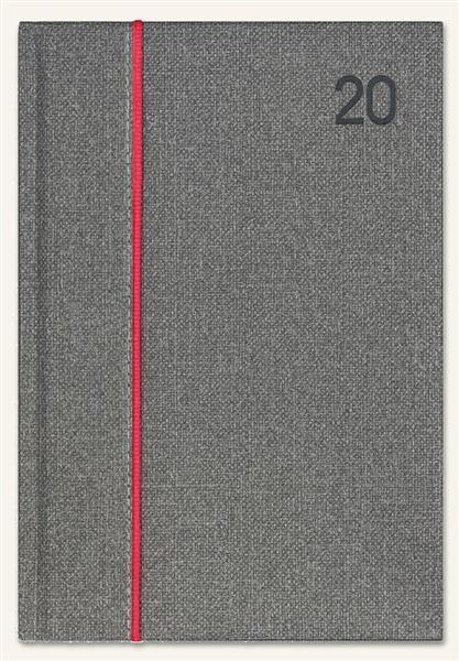Kalendarz 2020 Ksiażkowy A4 Classic szara juta