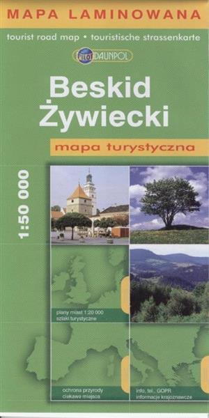 Mapa Turys - Beskid Żywiecki 1:50 000 -BR-LAM-