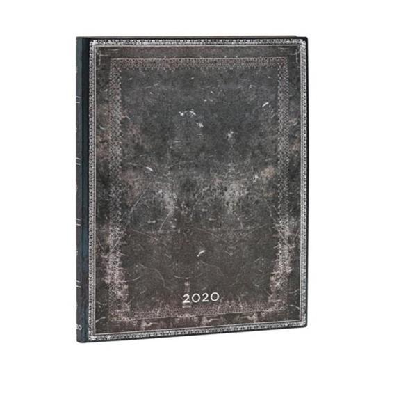 Kalendarz książkowy ultra 2020 12M wer. Steel