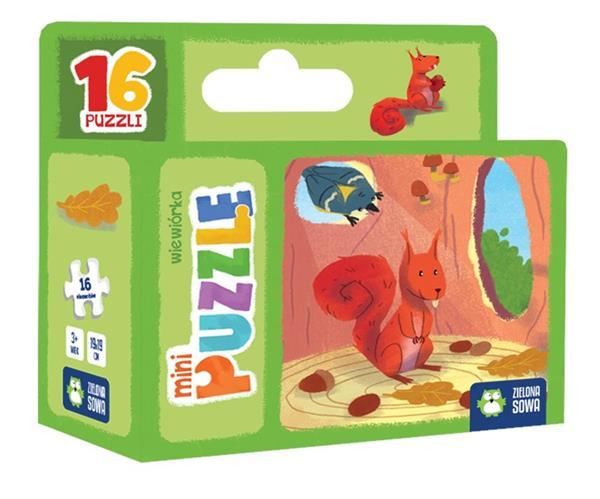 Mini Puzzle. Wiewiórka