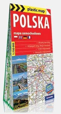Polska 1:700 000 mapa samochodowa w.2019