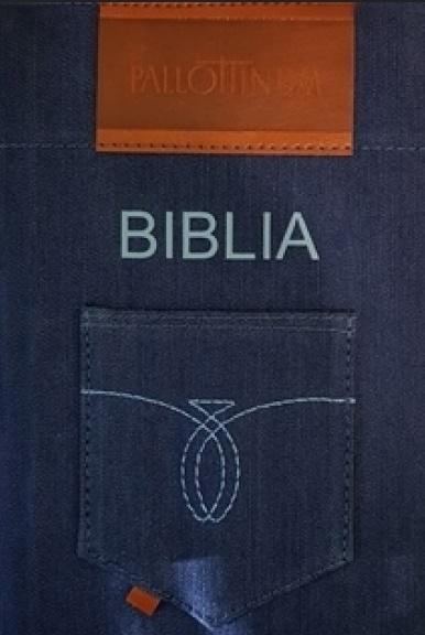 Biblia Tysiąclecia - format oazowy (jeans futerał)