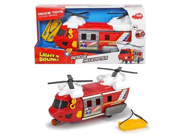 Helikopter ratunkowy czerwony 30cm