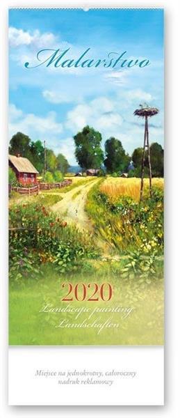Kalendarz 2020 Czterodzielny Malarstwo TW2