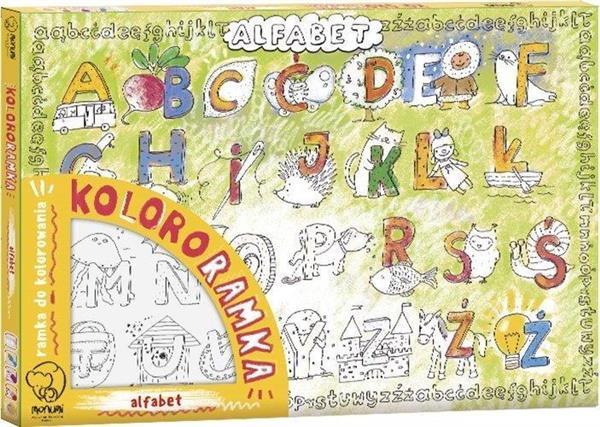 Kolororamka. Alfabet