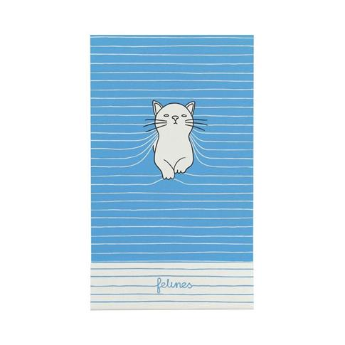 Notes - Purrrfect Place - Bold Blue