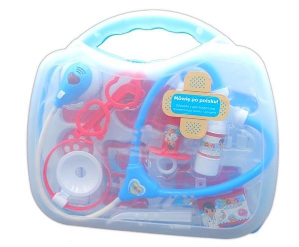 Zestaw lekarski z polskim modułem w walizce