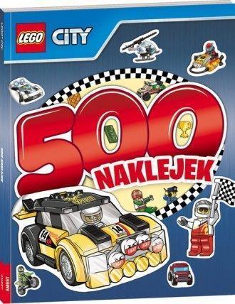 500 naklejek. LEGO ® City w.2016