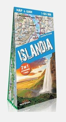 Comfort! map & guide. Islandia 2w1 w.2018