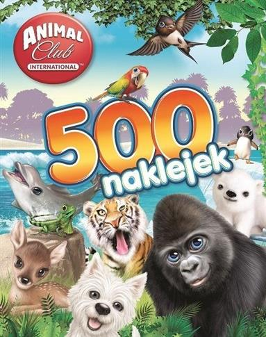 Animal Club. 500 naklejek
